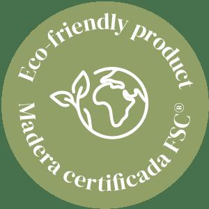 Producto eco friendly sostenible